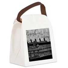 Remembering Titanic Canvas Lunch Bag