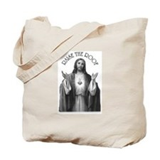 """JC says """"Raise the Roof"""" Tote Bag"""