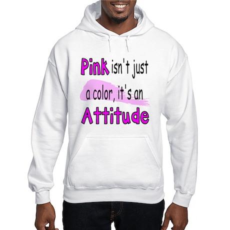 Pink Attitude Hooded Sweatshirt
