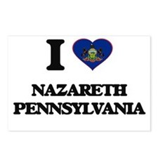 I love Nazareth Pennsylva Postcards (Package of 8)