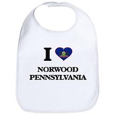 I love Norwood Pennsylvania Bib