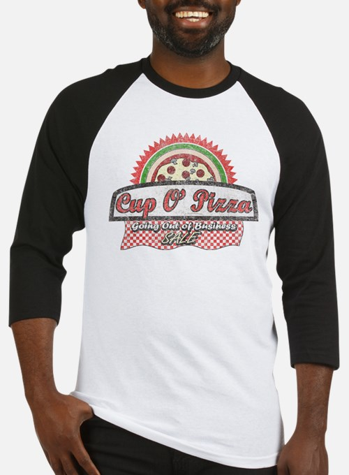 Cup O'Pizza Baseball Jersey