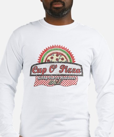 Cup O'Pizza Long Sleeve T-Shirt