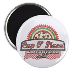 Cup O'Pizza Magnet