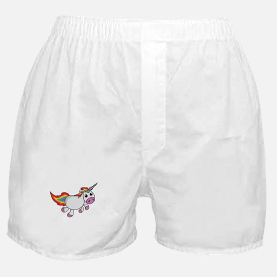 Cute Cartoon Unicorn Boxer Shorts