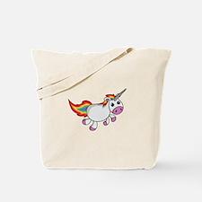 Cute Cartoon Unicorn Tote Bag