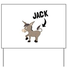 Jack Ass Yard Sign