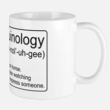 Ferroequinology Defined Mug
