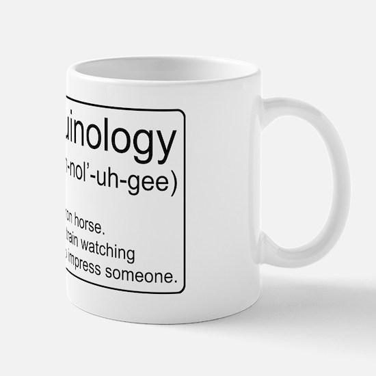 Ferroequinology Defined Mug
