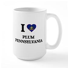 I love Plum Pennsylvania Mugs