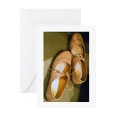 Dancing Shoes Card Greeting Cards