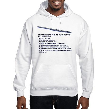 Flute Top 10 Hooded Sweatshirt