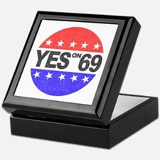 YES on 69 Keepsake Box