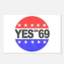 YES on 69 Postcards (Package of 8)