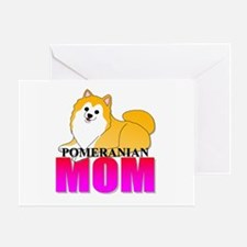Pomeranian Greeting Card