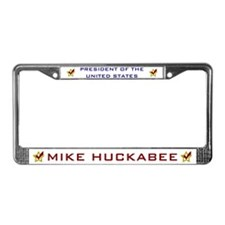 Mike Huckabee for President License Plate Frame