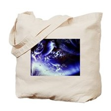 Butterfly Mask Fractal Tote Bag