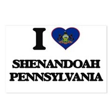 I love Shenandoah Pennsyl Postcards (Package of 8)