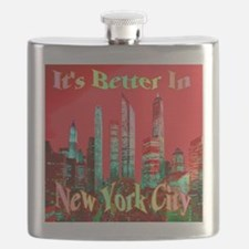 It's Better In New York City Flask