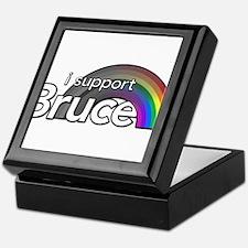 i support Bruce Keepsake Box