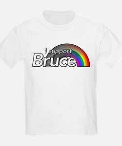 i support Bruce T-Shirt