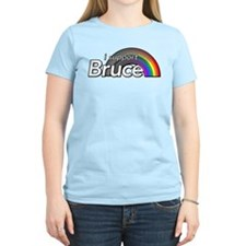 i support Bruce T-Shirt