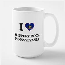 I love Slippery Rock Pennsylvania Mugs