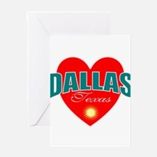 I love Dallas Texas Greeting Cards