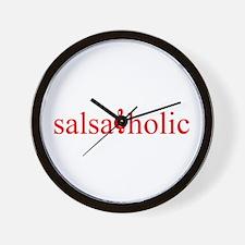 Salsaholic Wall Clock