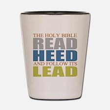 The Bible Shot Glass