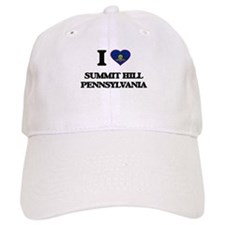 I love Summit Hill Pennsylvania Baseball Cap