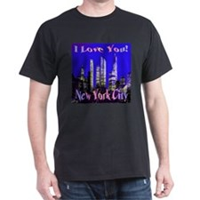 I Love You New York City T-Shirt