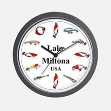 Lake Miltona Clocks Wall Clock