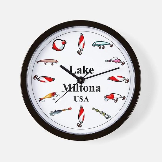 Lake Miltona Clocks Wall Clock