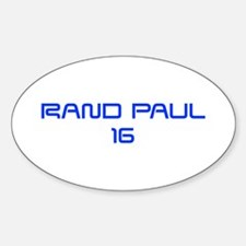 Rand Paul 16-Sav blue 9 Decal