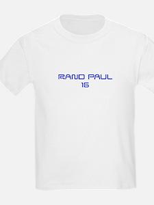 Rand Paul 16-Sav blue 9 T-Shirt