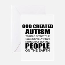 Autism awareness Greeting Cards