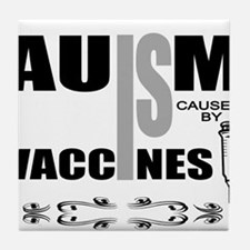 autism cause Tile Coaster