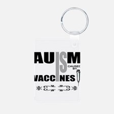 autism cause Keychains