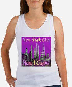 New York City Here I Come! Women's Tank Top