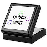 Gotta Sing Choir Keepsake Box
