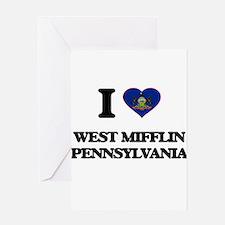 I love West Mifflin Pennsylvania Greeting Cards