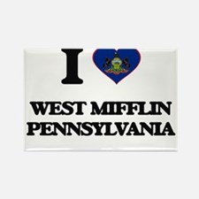 I love West Mifflin Pennsylvania Magnets