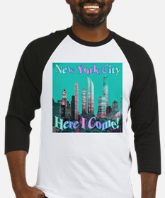 New York City Here I Come! Baseball Jersey