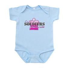 Soldiers Princess Infant Bodysuit