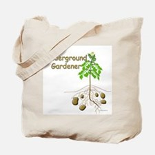 Underground gardener Tote Bag