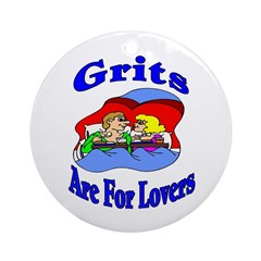 Grits Ornament (Round)