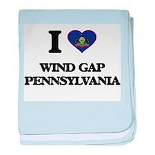 I love Wind Gap Pennsylvania baby blanket