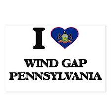 I love Wind Gap Pennsylva Postcards (Package of 8)