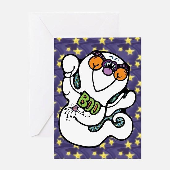 Cute Ghost Boo Greeting Card